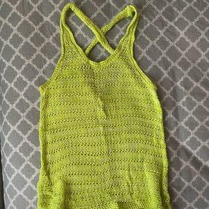 🌿 Crochet Tank